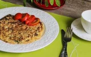 Вкусный омлет со свежим шпинатом и сыром – простой рецепт приготовления на сковороде с пошаговыми фото