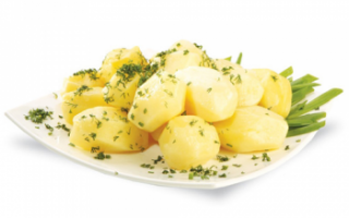 Вареный картофель — калорийность, польза и вред