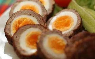 Яйца по-шотландски — фото рецепт приготовления во фритюре