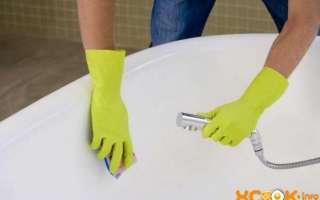 Как и чем в домашних условиях можно отбелить ванну (чугунную, акриловую, эмалированную)?
