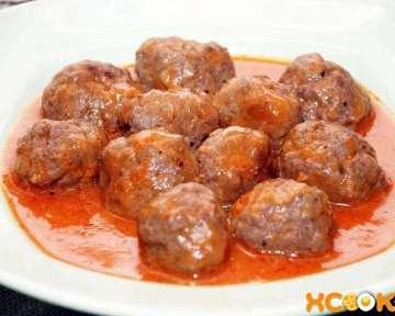 Пошаговый рецепт приготовления сочных тефтелей из говяжьего фарша в томатном соусе с фото в домашних условиях
