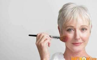 Особенности возрастного макияжа на каждый день; как правильно делать для нависшего века в домашних условиях? – пошаговая фото инструкция и видео урок