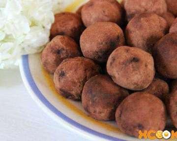 Классический рецепт с пошаговыми фото приготовления своими руками домашних конфет Трюфели