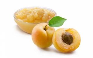 Абрикосовое пюре — свойства и приготовление