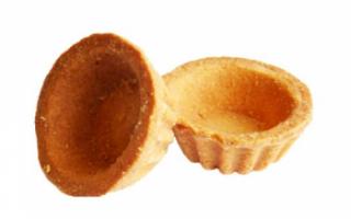 Тарталетки – рецепты приготовления и вкусные начинки