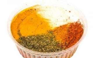 Приправа для картофеля — калорийность и рецепт приготовления