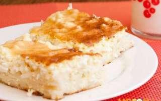 Сладкая запеканка из макарон с творогом – пошаговый рецепт с фото приготовления в духовке