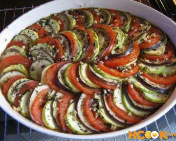 Классический французский рататуй — рецепт с фото приготовления овощного блюда