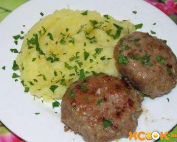 Простой и быстрый рецепт приготовления мясных биточков с пошаговыми фото технологии приготовления