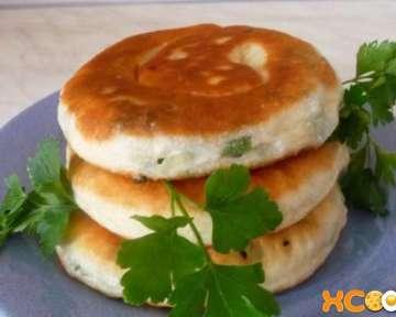 Киргизская лепешка каттама с луком – рецепт приготовления с пошаговыми фото