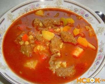 Суп гуляш венгерский классический – пошаговый рецепт с фото приготовления в домашних условиях