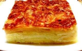 Как приготовить картофельный гратен с сыром — пошаговый рецепт с фото