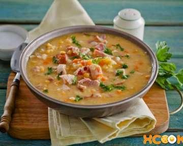 Гороховый суп с копченой курицей в мультиварке – пошаговый рецепт с фото, как приготовить