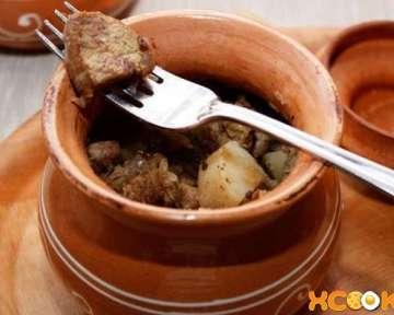 Говядина с картошкой в горшочках в духовке – рецепт с фото, как приготовить в домашних условиях пошагово