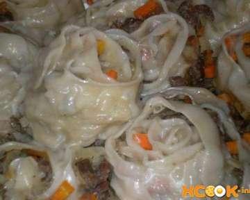 Гюль Манты — рецепт с фото по приготовлению восточного блюда в домашних условиях