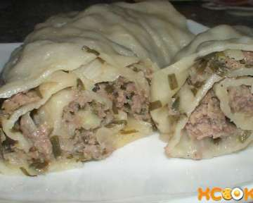 Пошаговый фото рецепт приготовления киргизского оромо