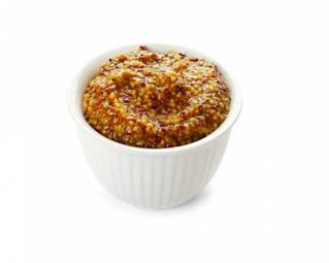 Горчица зернистая – состав, калорийность и описание с фото; польза и вред; применение соуса в кулинарии; как сделать продукт в домашних условиях