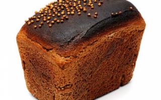 Бородинский хлеб — калорийность, польза и вред