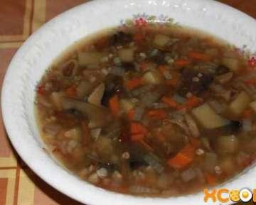 Постный грибной суп из сушеных грибов в мультиварке – пошаговый рецепт с фото, как его приготовить