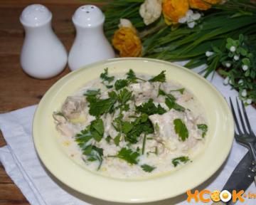 Филе индейки в сливочном соусе – пошаговый рецепт с фото, как приготовить вкусно