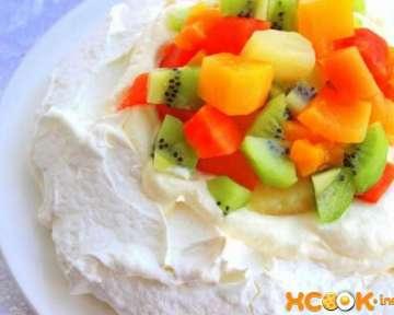Торт безе Павлова — классический фото рецепт, как приготовить