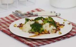 Диетический салат из брокколи и цветной капусты – как приготовить в домашних условиях, фото рецепт пошаговый