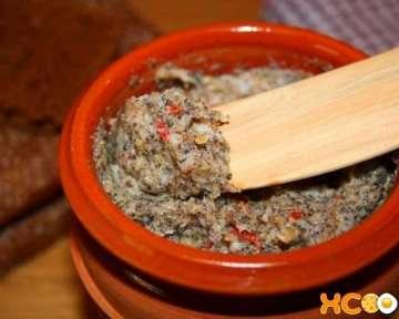 Паштет из свиного сала — домашний рецепт с фото, как сделать с чесноком