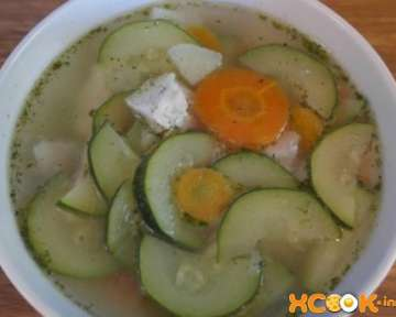 Диетический овощной суп с кабачком и курицей – рецепт с пошаговыми фото, как приготовить вкусно с картошкой