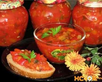 Рецепт приготовления салата из свежих цуккини на зиму