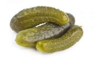 Пищевая ценность и калорийность маринованных огурцов