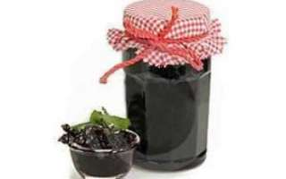 Варенье из черной смородины — рецепт, калорийность, польза и вред