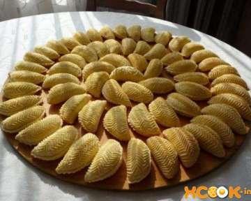 Азербайджанская сладость шекербура с фундуком – пошаговый рецепт приготовления с фото