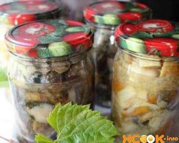 Вкусные маринованные подосиновики и белые грибы — пошаговый рецепт с картинками по приготовлению на зиму в домашних условиях