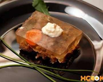 Как варить студень из говядины – пошаговый рецепт с фото