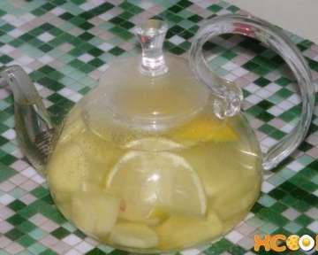 Рецепт заваривания вкусного и полезного имбирно-лимонного чая с медом в домашних условиях с фото