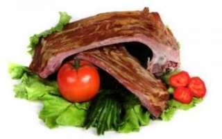Ребрышки свиные копченые — полезные свойства, вред и секреты приготовления