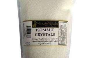 Изомальт (заменитель сахара) – что это такое, использование при диабете, польза и вред
