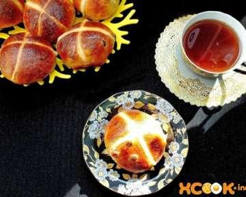 Пасхальные булочки – пошаговый фото рецепт приготовления праздничной сдобы