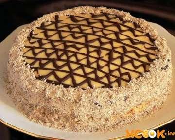 Пошаговый фото рецепт приготовления торта Эстерхази в домашних условиях