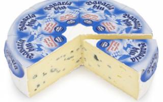Пищевая и энергетическая ценность сыра Бавария блю, характеристика его свойств