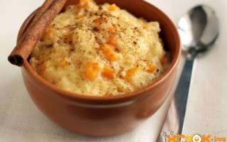 Простой и вкусный пошаговый рецепт с фото, как варить пшенную кашу с тыквой