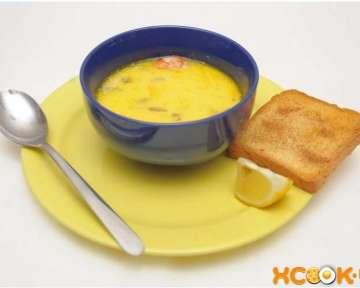 Сырный крем суп с креветками — простой фото рецепт, как его приготовить