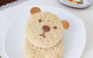 Пошаговый рецепт приготовления оригинального бутерброда для детей с фото