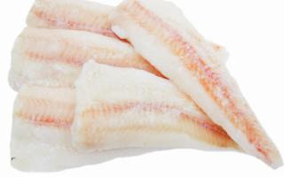 Филе минтая – калорийность и полезные свойства, рецепты приготовления