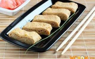 Фото рецепт приготовления классического японского омлета пошагово в домашних условиях