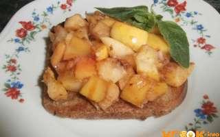 Французские тосты с яйцом, молоком и яблоками – приготовление по рецепту с пошаговыми фото