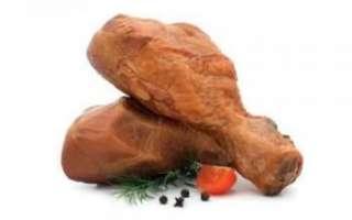 Куриные окорочка копченые – как приготовить в домашних условиях, польза и вред