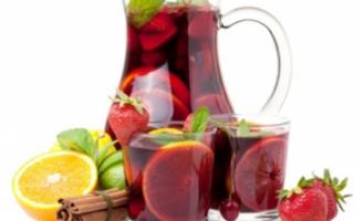 Вино сангрия – описание с фото испанского напитка и его видов; рекомендации, как правильно пить; рецепты, как приготовить сангрию в домашних условиях