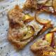 Нежный песочный пирог с персиками – пошаговый рецепт с фото выпечки