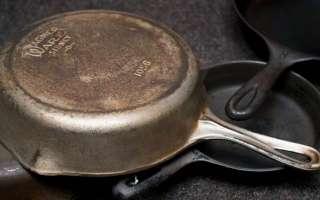 Чем очистить сковороду от нагара снаружи в домашних условиях?